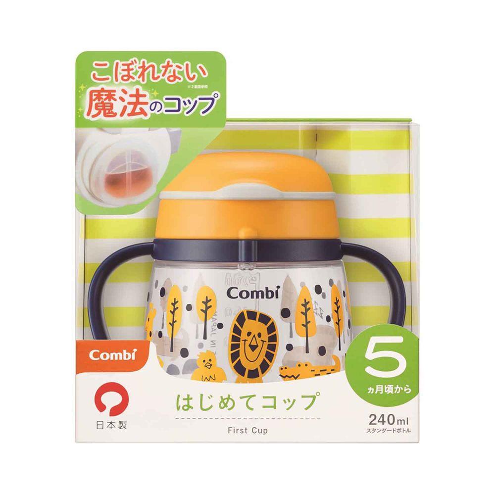 日本 Combi - LakuMug樂可杯第2階段直飲杯-水杯-快樂森林 (5個月以上)-240ml
