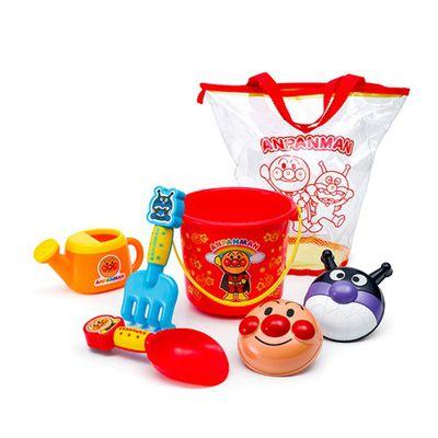 麵包超人沙灘玩具(含提袋)-7件組