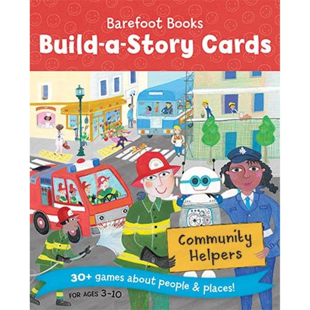 字卡遊戲- BUILD STORY CARDS COMMUNITY HELPERS-彩色 (11x13cm/平裝/彩色/36張)