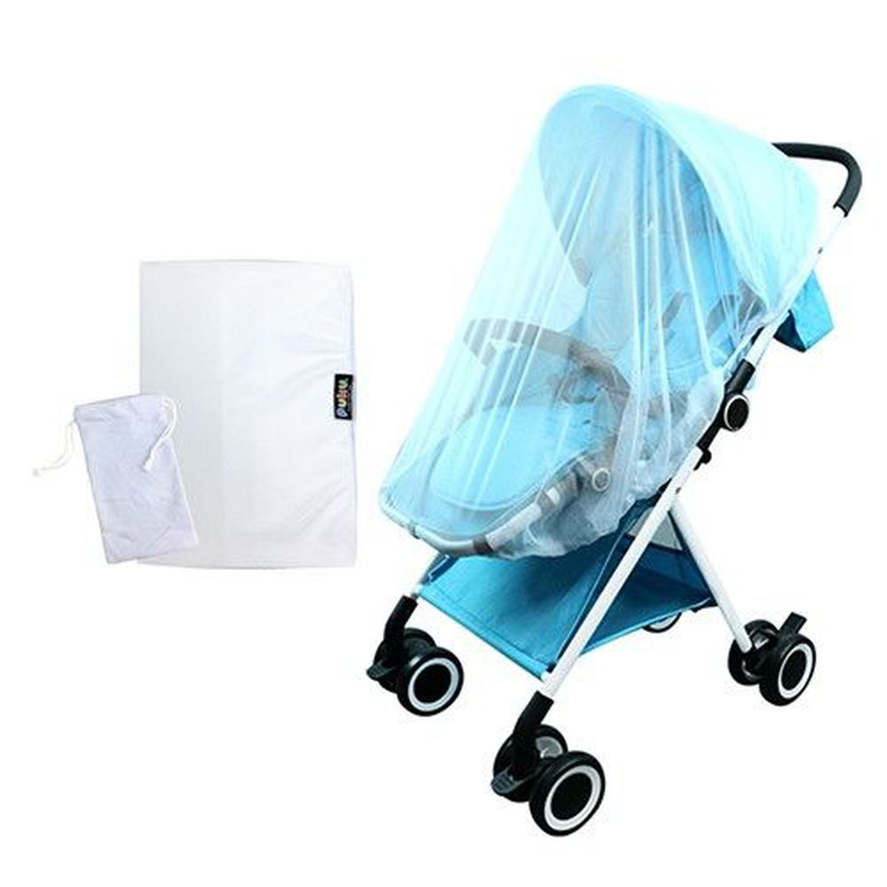 PUKU 藍色企鵝 - PUKU推車防蚊罩(附收納袋)