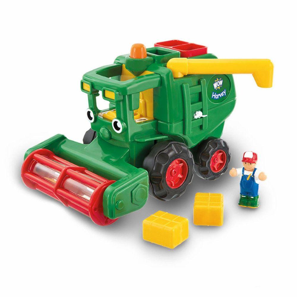 英國驚奇玩具 WOW Toys - 稻穀收割機 哈維大叔