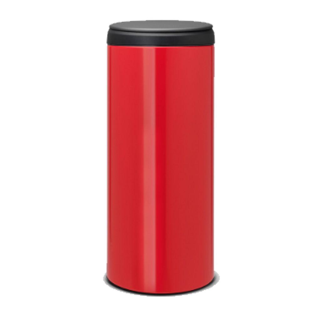 荷蘭 Brabantia - (福利品)新掀式垃圾桶-熱情紅-30L(送垃圾袋)-熱情紅-30L