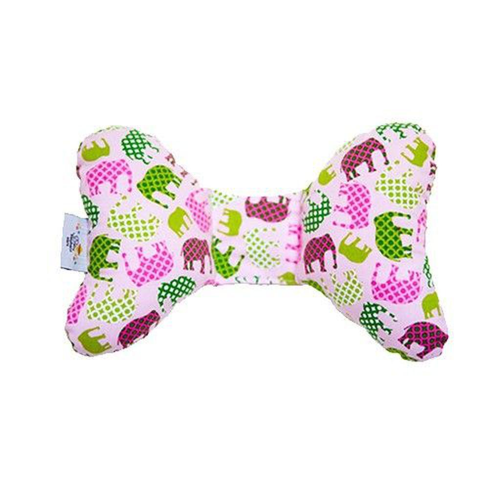 美國 Baby elephant ears - Baby Elephant Ears 寶寶護頸枕-粉色小象