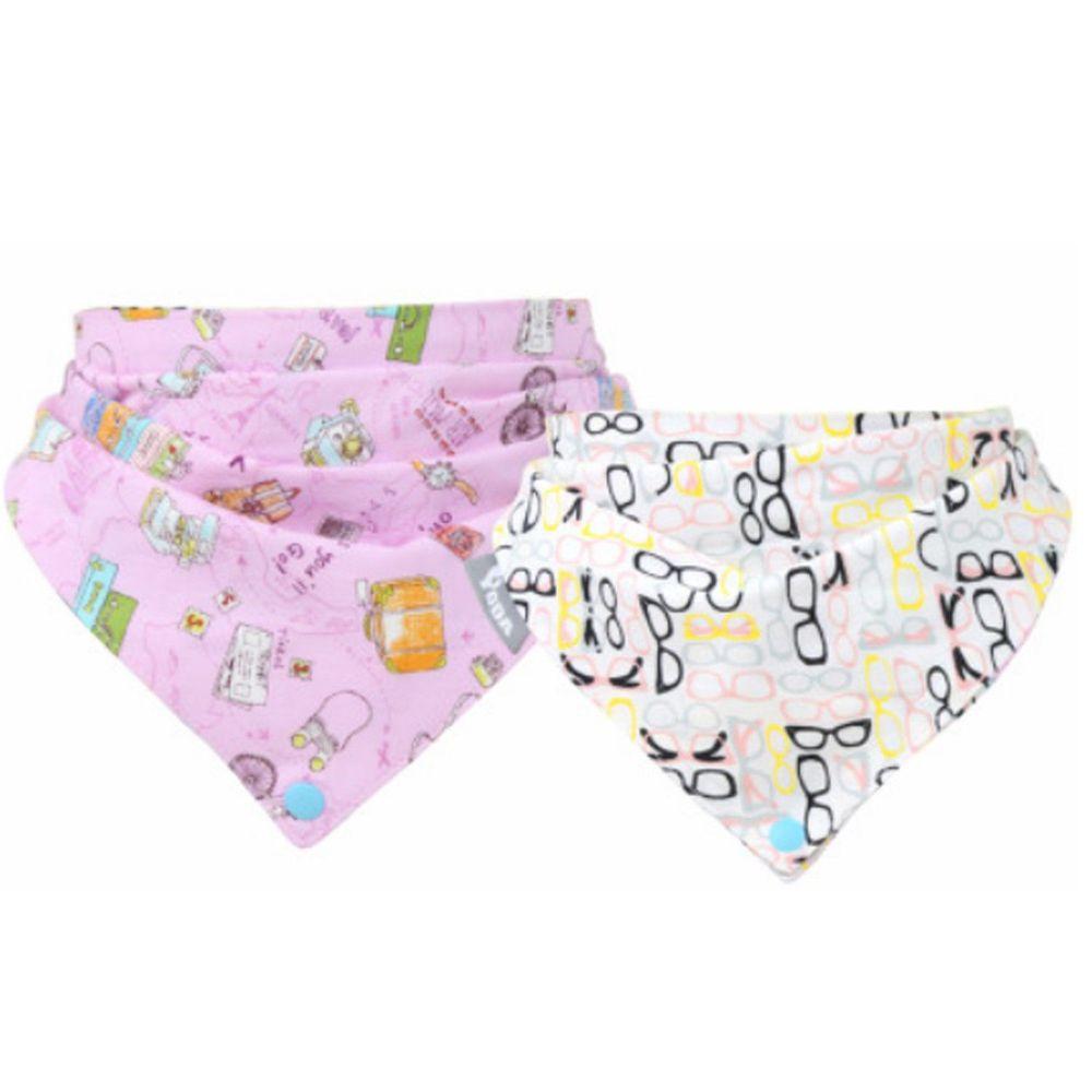YODA - 優的純棉紗布扣扣兜-環遊世界