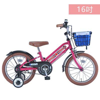 兒童腳踏車16吋-(適用身高100cm以上)-粉