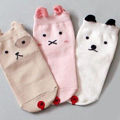 韓國製踝襪-三件組-Fun