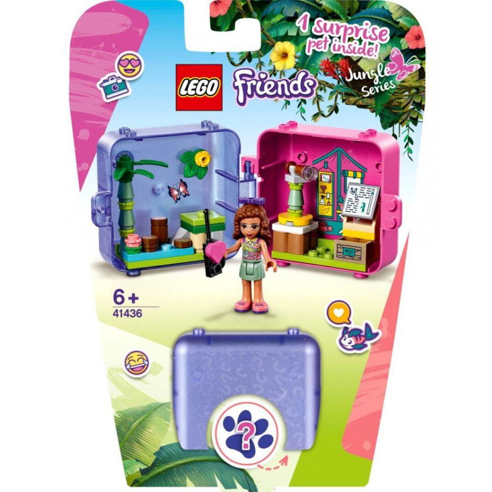 樂高 LEGO - 樂高積木 LEGO《 LT41436》Friends 姊妹淘系列-叢林秘密寶盒-奧麗薇亞-51pcs