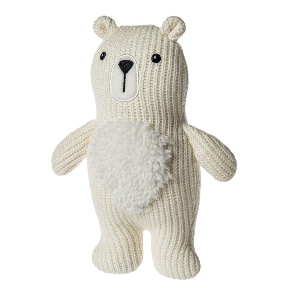 美國 MaryMeyer 蜜兒 - 柔軟手搖鈴-針織熊