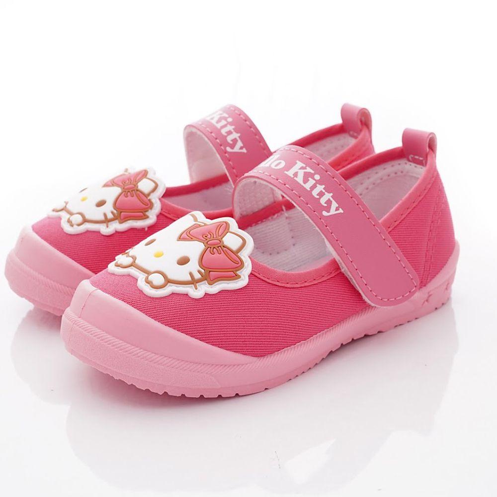 HELLO KITTY - 凱蒂休閒室內/外鞋款(中小童段)-桃紅