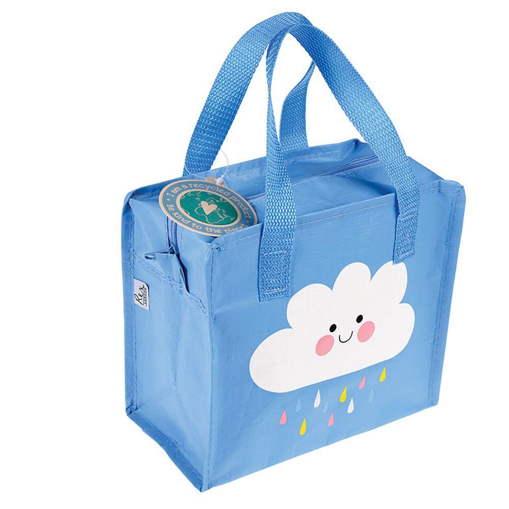 英國 Rex London - 學生上學最佳多功能防水便當袋/野餐袋/手提袋/萬用袋-快樂雲