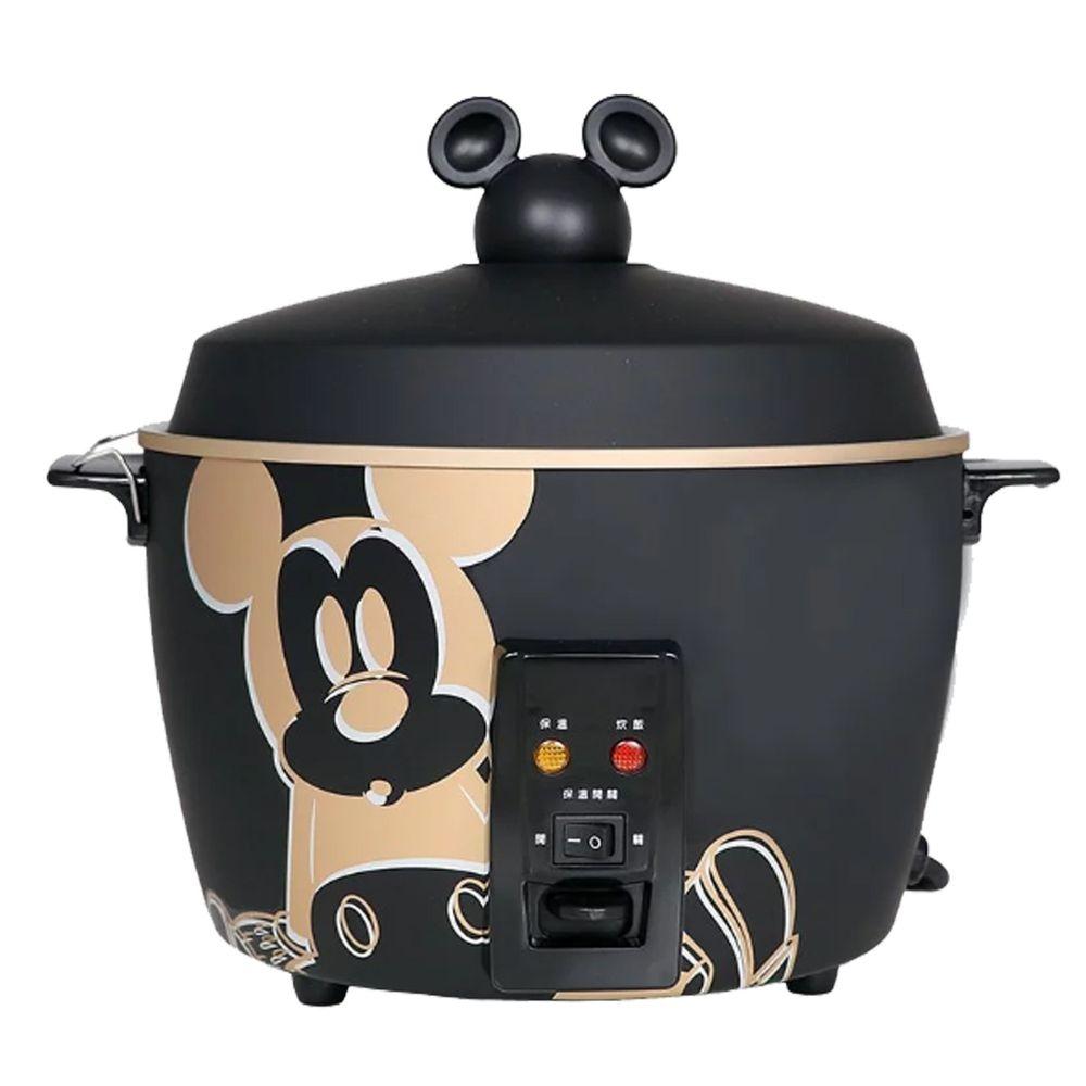 媽咪愛 迪士尼 - 米奇系列304不鏽鋼11人份電鍋-質感黑