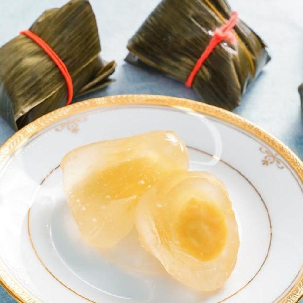 壽滿趣 - 藍帶五星私房港點(水晶奶皇冰粽5個)-300公克