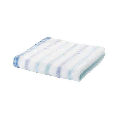 今治小花毛巾-蝴蝶藍 (34x80cm)