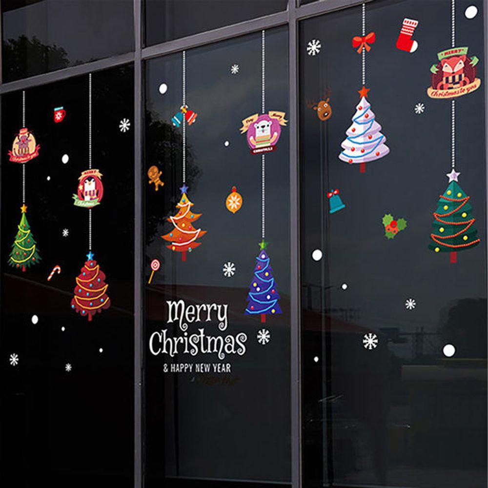 JB Design - 時尚壁貼-聖誕樹掛件XL650 (45cm*60cm)