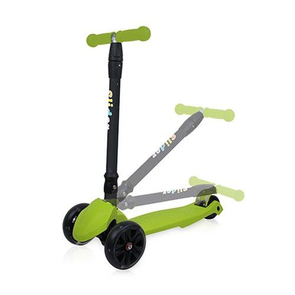 Slider 滑來滑趣 - 兒童三輪折疊滑板車XL1-果綠