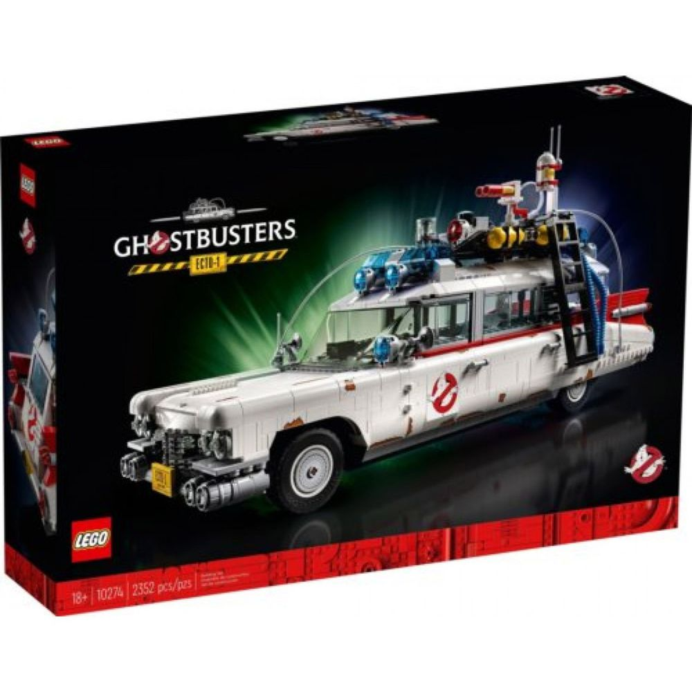 樂高 LEGO - 樂高積木 LEGO《 LT 10274 》魔鬼剋星™ ECTO-1-2352pcs