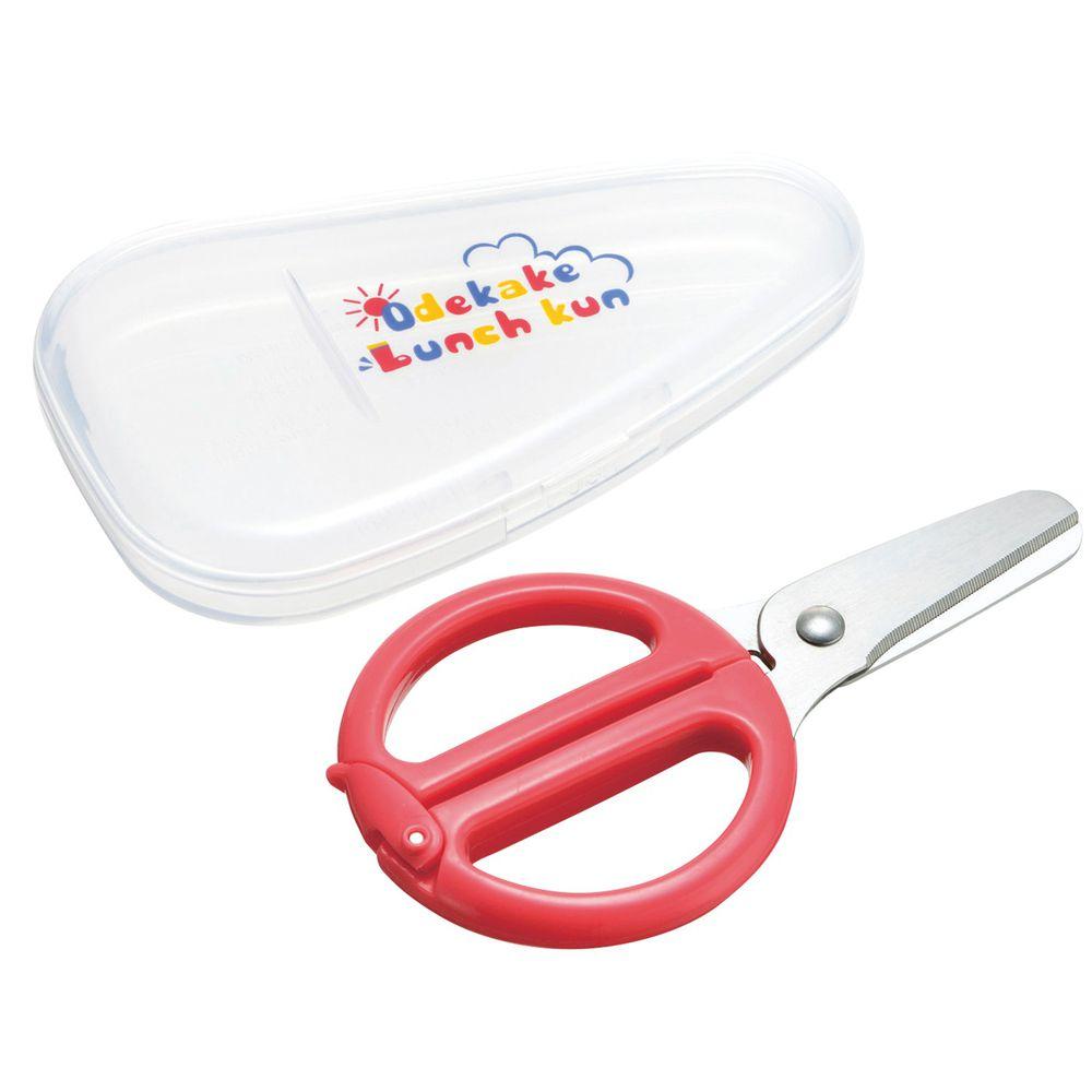 日本 Richell 利其爾 - 離乳食不鏽鋼剪刀-附盒