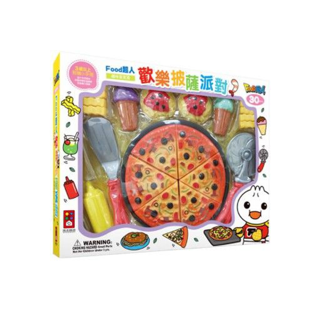 風車圖書 - 歡樂披薩派對-FOOD超人