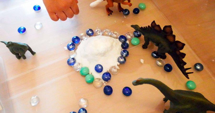激發創造力!小孩都在瘋玩的「火山爆發」遊戲