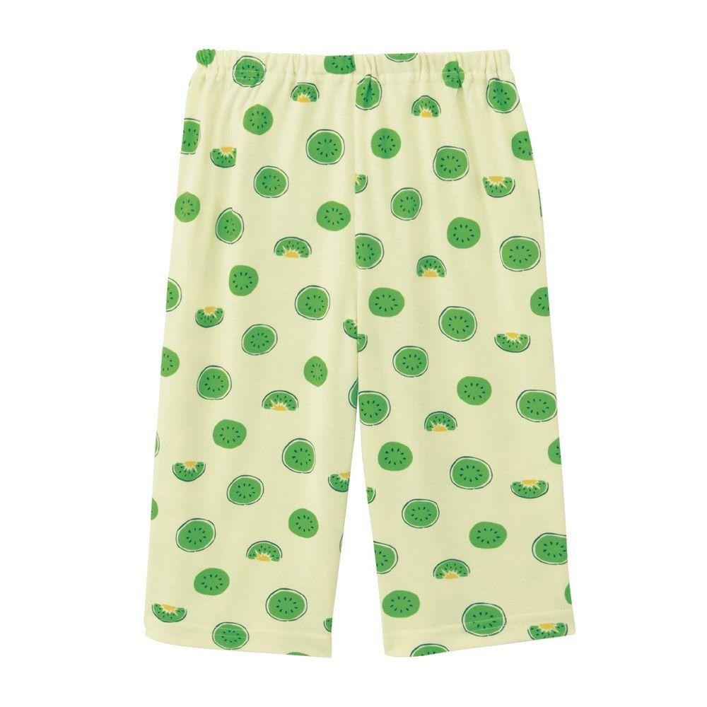 日本千趣會 - 接觸涼感舒適睡褲/家居長褲-奇異果-綠