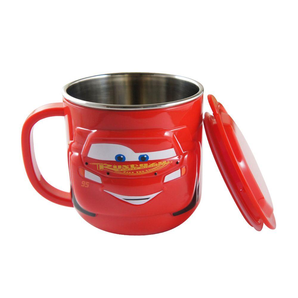 DISNEY 迪士尼 - 不鏽鋼可分離水杯-閃電麥昆