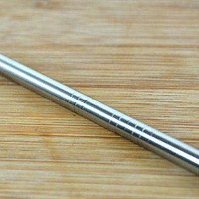 316L-不鏽鋼吸管-細C直 (21.5cm)