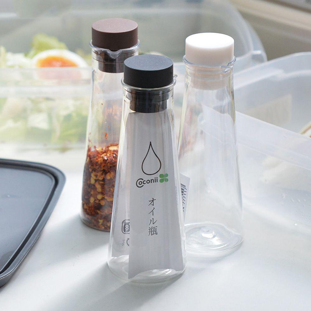日本山田YAMADA - 密封式PET油醋醬料分裝瓶-77ml-3入組(三色)