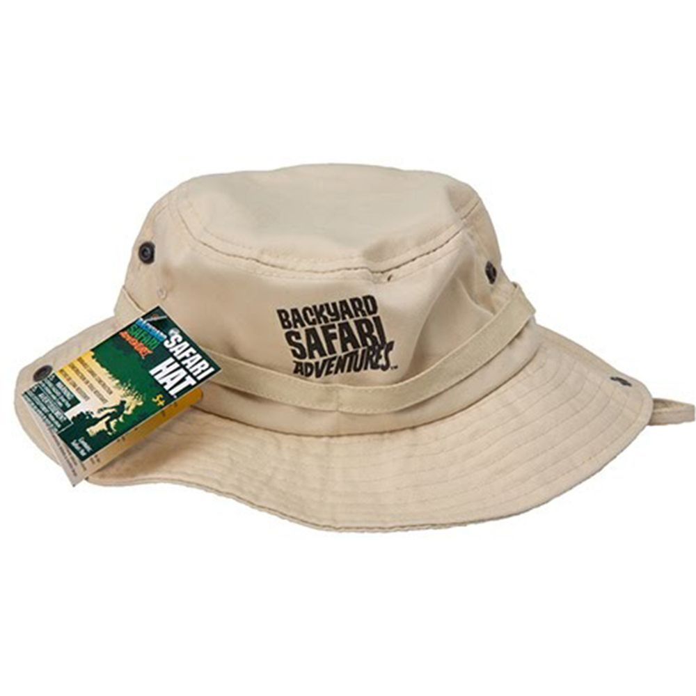 美國 Backyard Safari - 小小探險家-遮陽帽