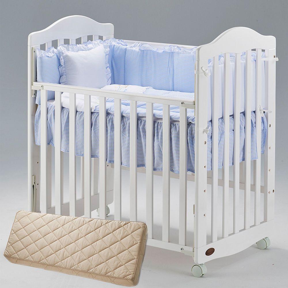 義大利AZZURRA - mini小床組合-藍色-白色