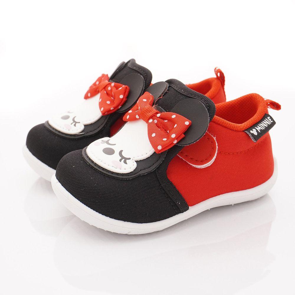 迪士尼 - 卡通童鞋-米妮休閒帆布鞋(小童段)-紅