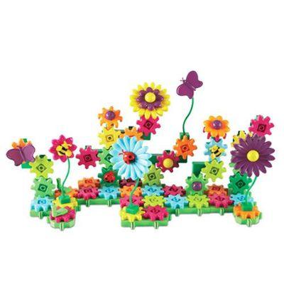 轉轉齒輪建構系列-繽紛花園