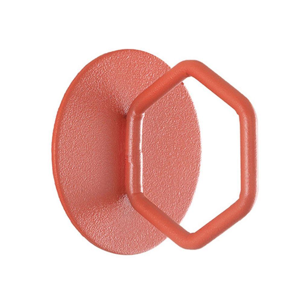 北歐文藝造型掛鉤-紅色六邊形