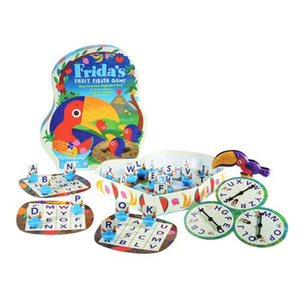 美國 Educational Insights - 親子互動桌遊-弗列達的水果樂園-3歲以上