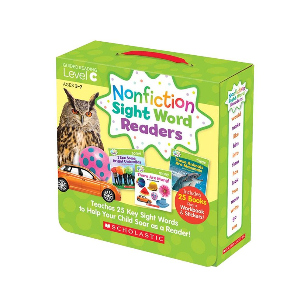 Nonfiction Sight Word Readers Level C with CD-教材+CD-彩色