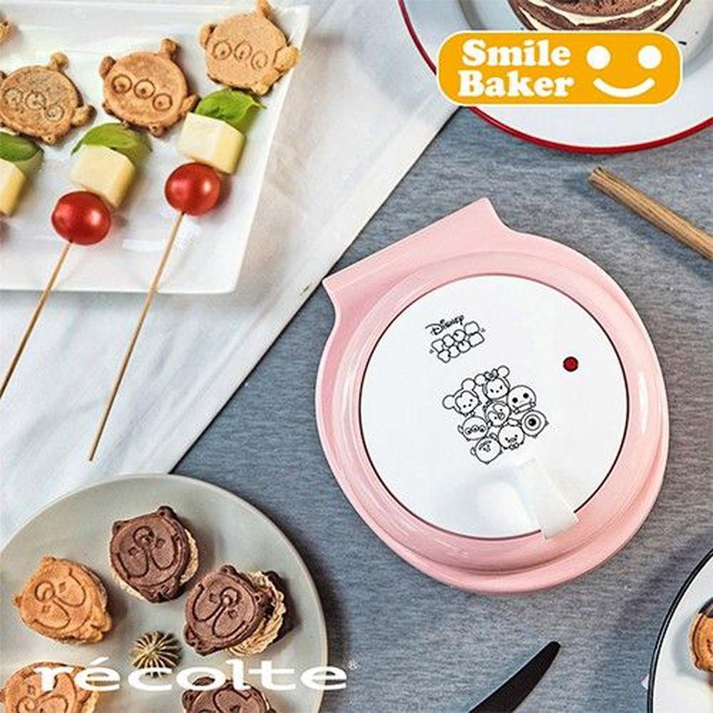麗克特 recolte - Smile Baker 微笑鬆餅機-Disney Tsum Tsum 系列