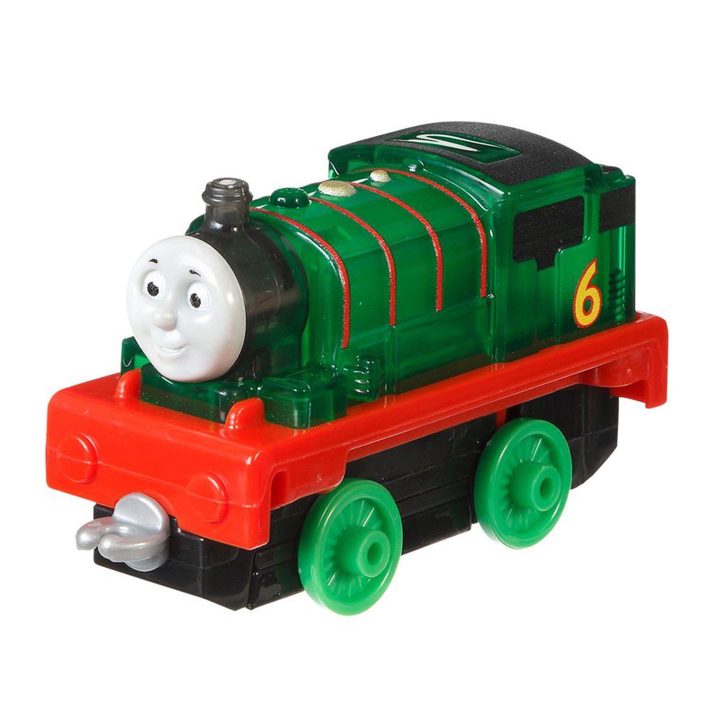 湯瑪士小火車 - 大冒險系列-經典發光合金小車-Percy