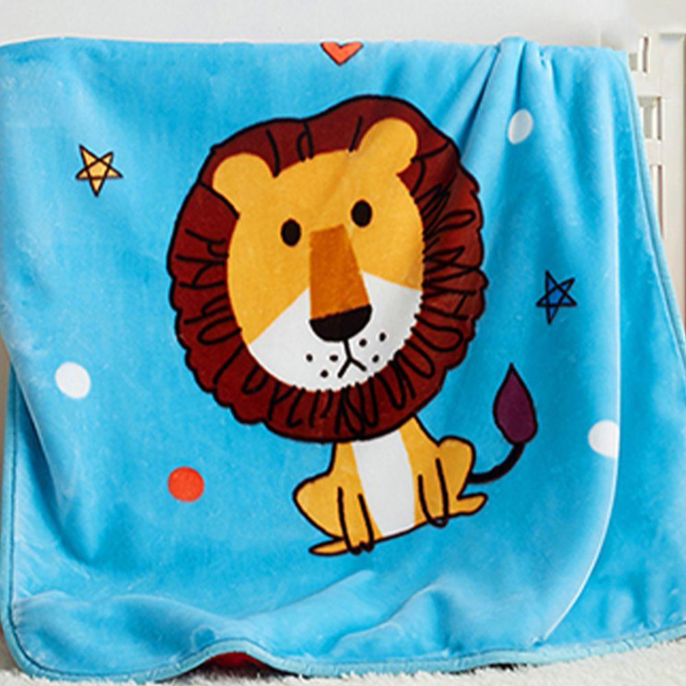 株式會社 - 日式雲童毯-小獅子 (100*140公分)