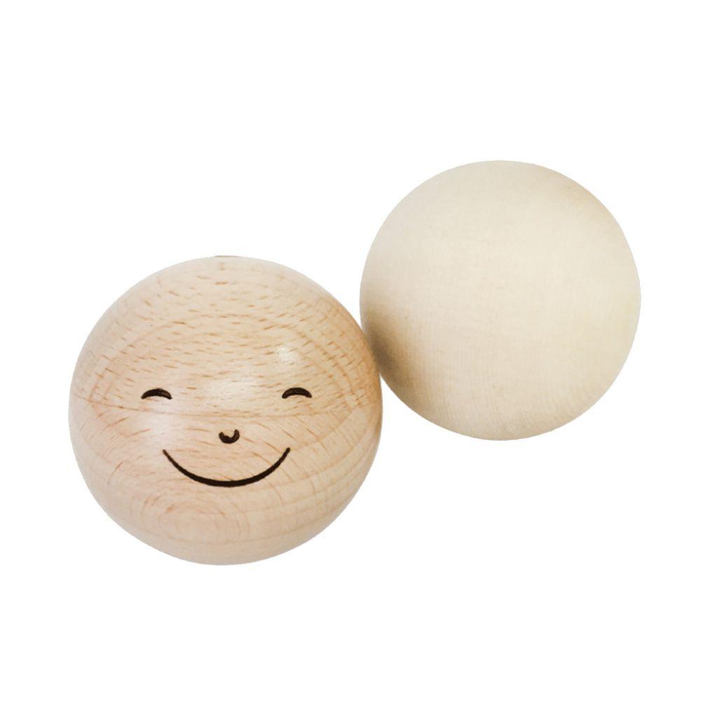 上誼文化 - 天然原木嬰幼系列-微笑木球組