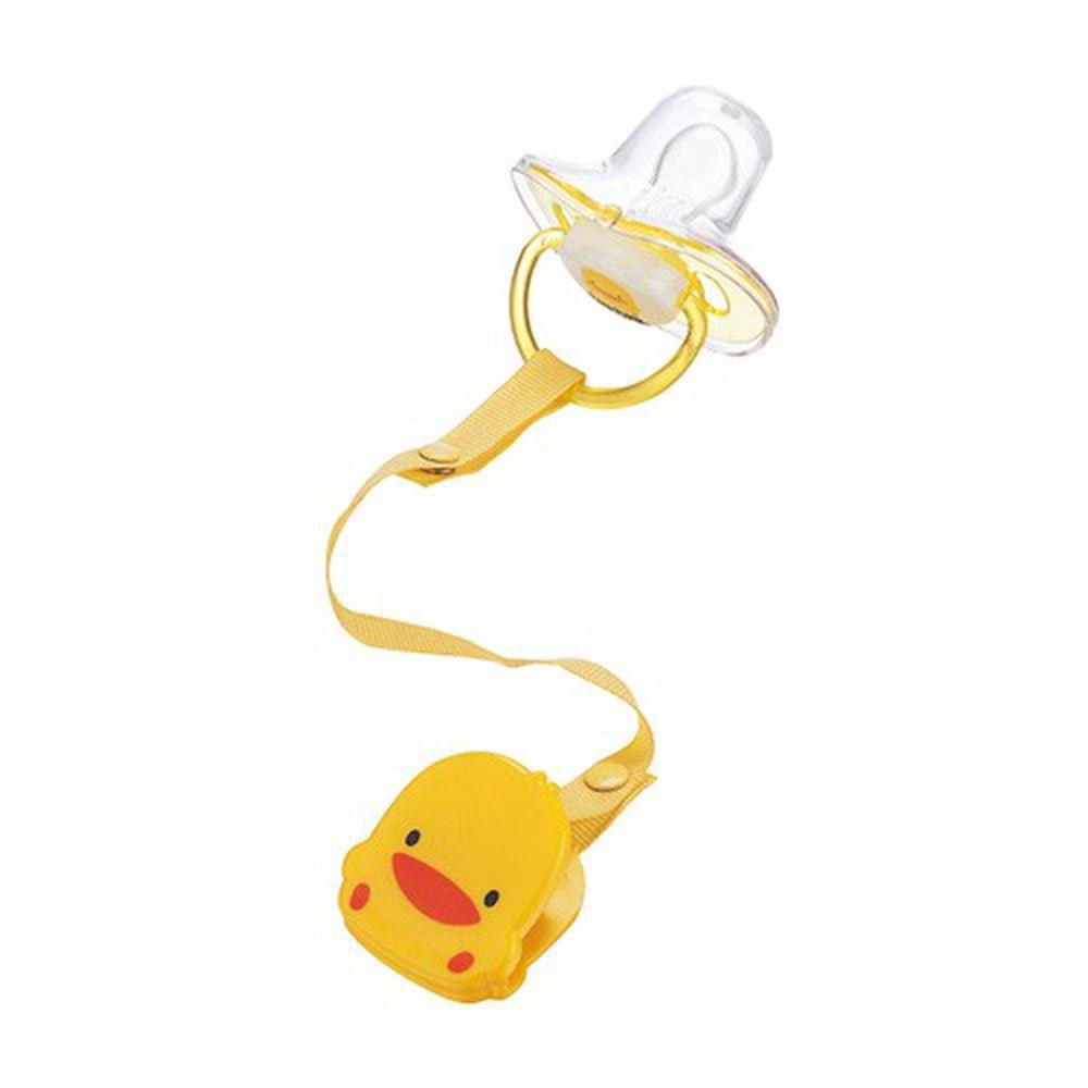 黃色小鴨 - 安撫奶嘴+奶嘴鍊