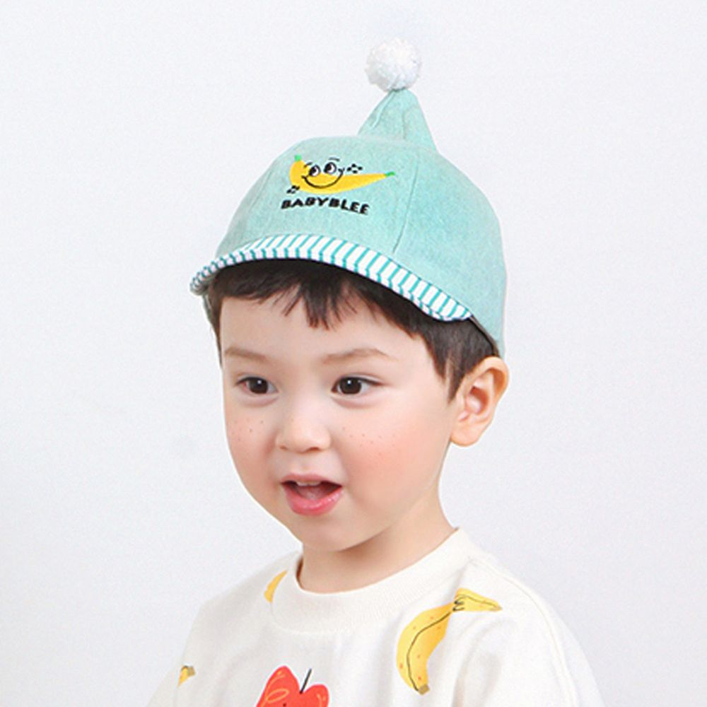 韓國 Babyblee - 小精靈水果棒球帽-綠