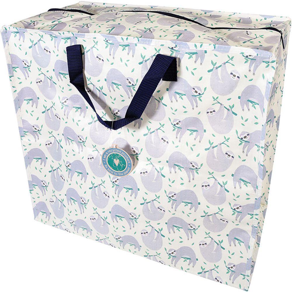 英國 Rex London - 衣物/棉被超大多功能防水環保收納袋/萬用袋-樹懶