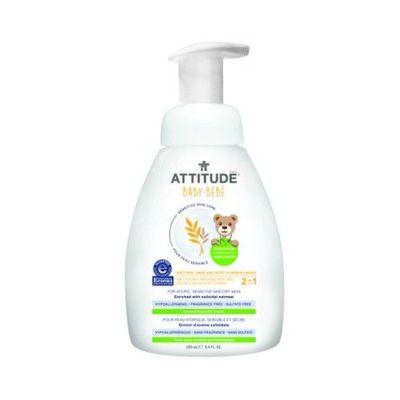 寶寶敏感肌膚2合1泡沫洗髮沐浴精-250ml