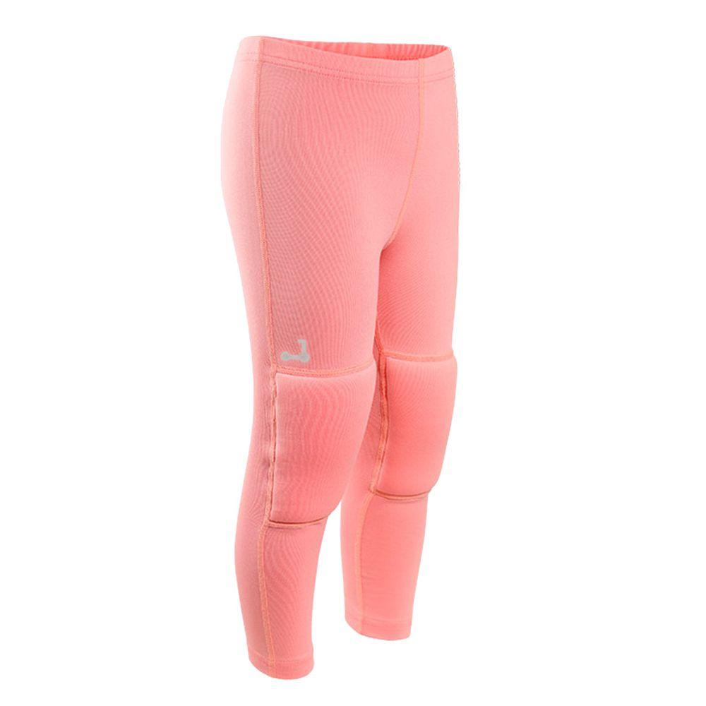 韓國 OZKIZ - 護膝彈力緊身褲-櫻花粉