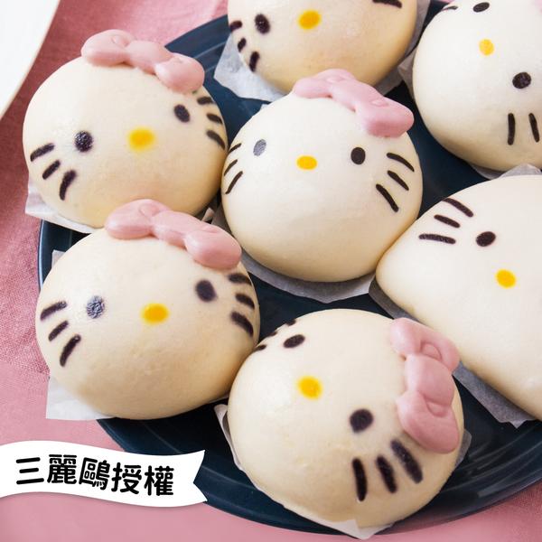 Hello Kitty 強勢來襲!超可愛造型包子、刈包 ❤ 輕鬆擄獲孩子的心