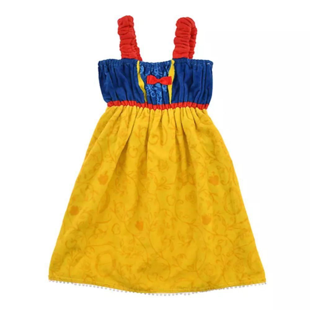 日本服飾代購 - 迪士尼公主造型浴巾/浴袍-白雪公主-藍X黃 (身高105~115cm)