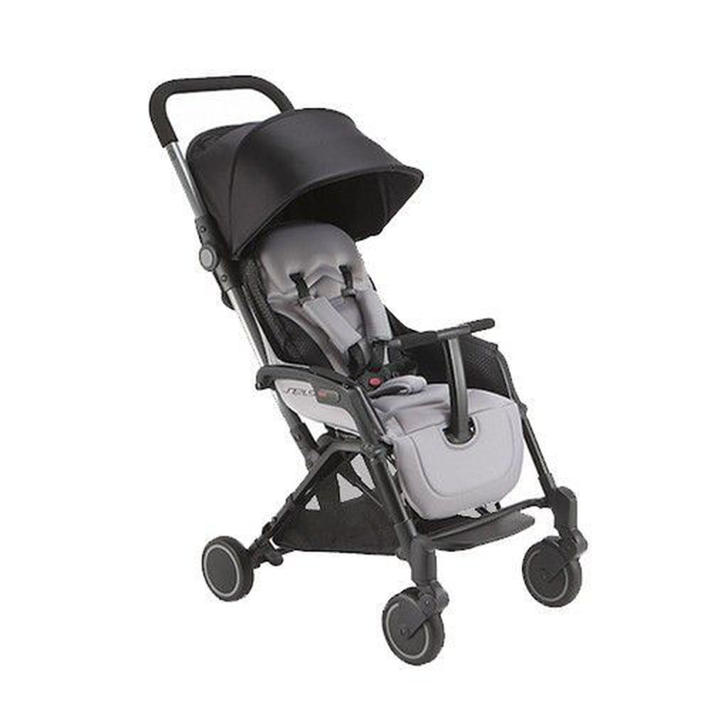 義大利 Pali - SEI.9 秒收可折疊站立嬰幼兒手推車-灰色-6.9kg