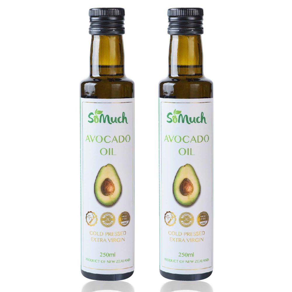 壽滿趣-紐西蘭Somuch - 頂級優惠兩件組-頂級冷壓初榨酪梨油*2-250ml*2