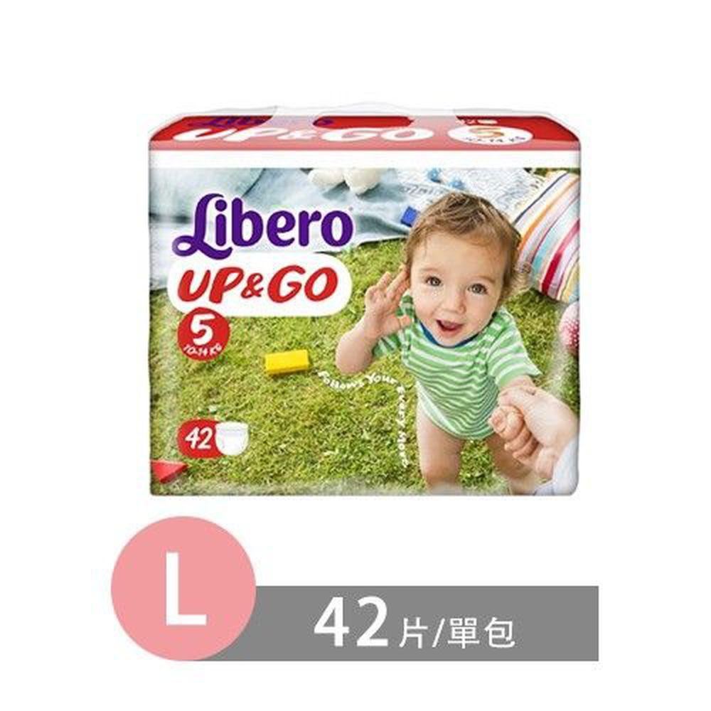 麗貝樂 Libero - 敢動褲-5號 (L [10~14kg])-42片/包