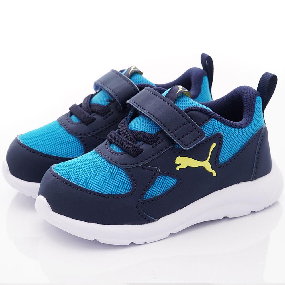 puma - 輕量彈力學步鞋(寶寶段)-藍
