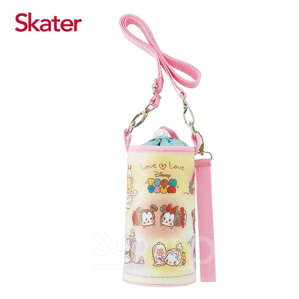 日本 SKATER - 可調式水壺袋-TSUM粉
